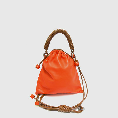 Pea Bag -Pop Orange