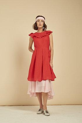 Kana Dress - Red