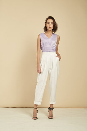 Bella Trousers - White