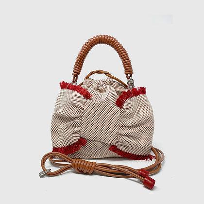 Lima Pea Bag - Red