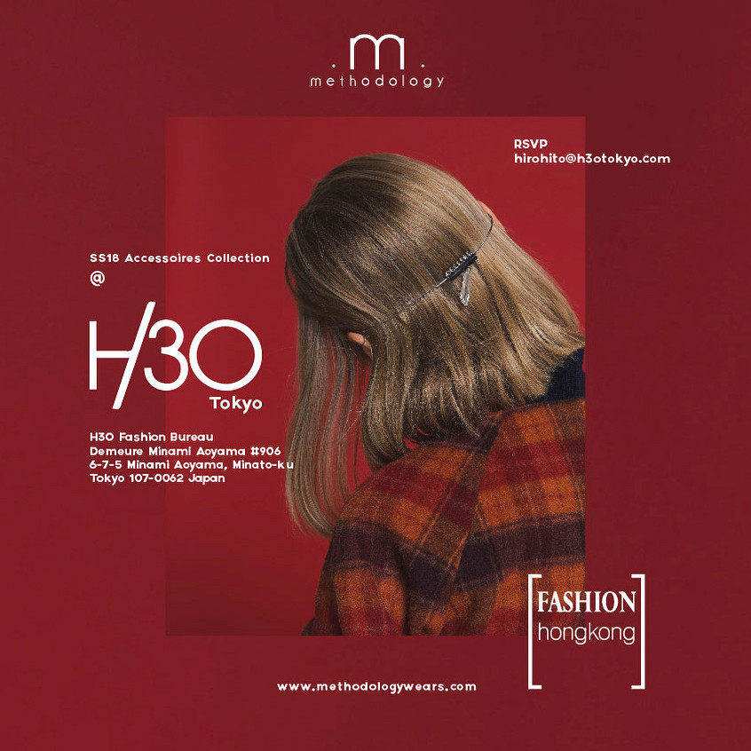 SS18 H3o Fashion Bureau Showroom, Tokyo