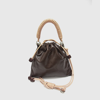 Pea Bag  -Dark Brown