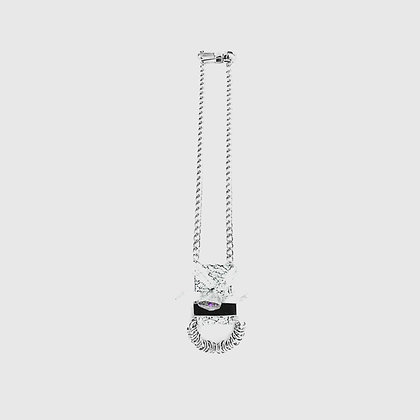 Noni Necklace - Cracked White