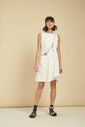 Smilje Dress - White