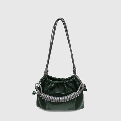 Tansy Bag - Green / Gray