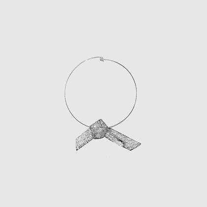 Vata Chocker - Cracked White / Silver