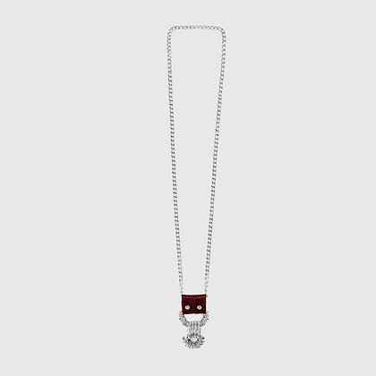 Gac Necklace - Burgundy