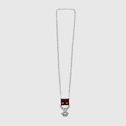 Gac Necklace - Burgundy