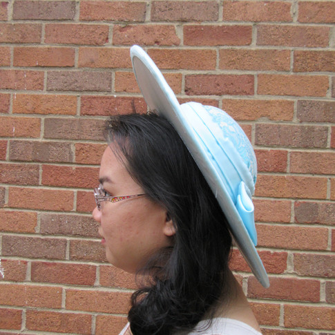 Pulled Buckram Hat