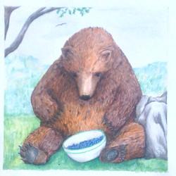 Bear Gets the Berries