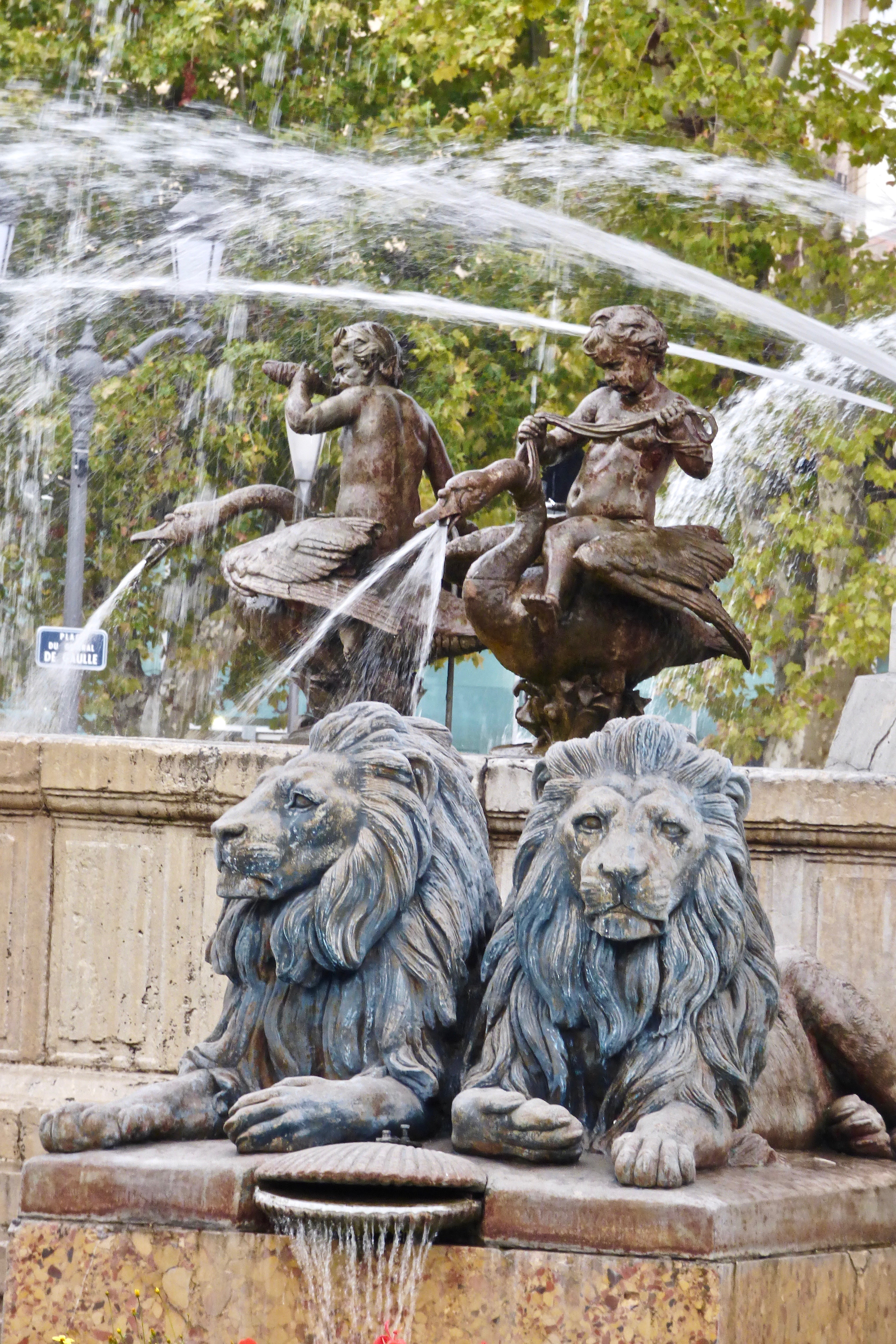 Fountain Lions