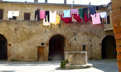 Asciano old convent c 14-15
