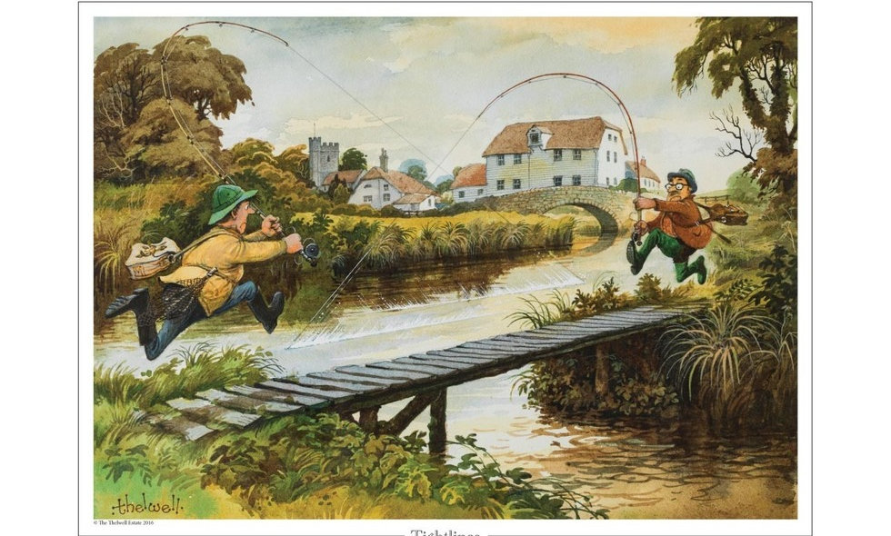 Tightlines by Norman Thelwell