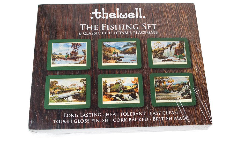 Thewell Fishing Place Mat Set