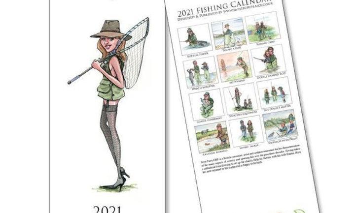 Fishing Calendar 2021 by Bryn Parry
