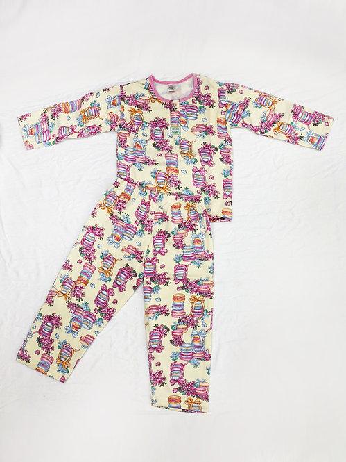 Pijama Flanela Macaron
