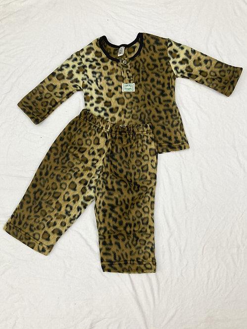 Pijama Soft Onça