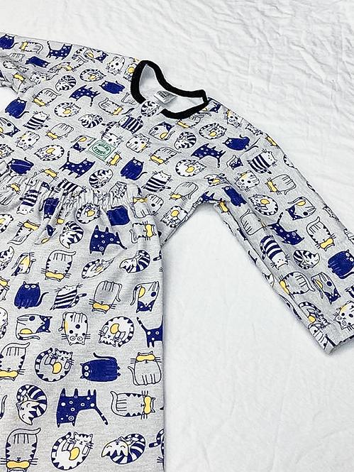Pijama Flanela Gatos