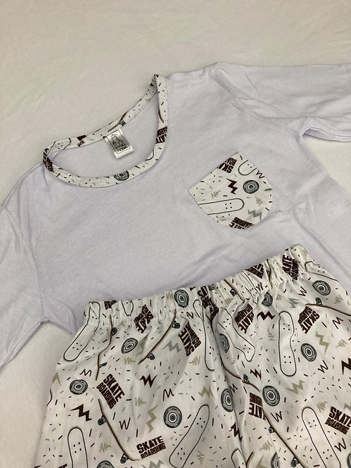 Pijama Malha Skate