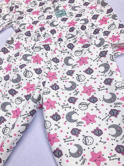 Pijama Flanela Lue e Estrela