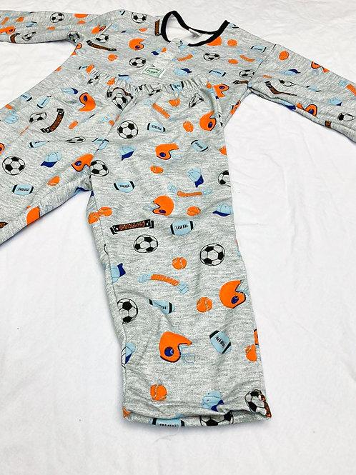 Pijama Flanela Esportes America Laranja