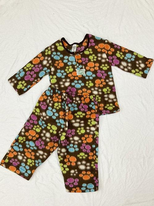 Pijama Soft Pata Colorida