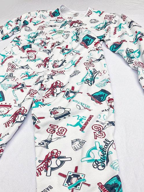 Pijama Flanela Baseball