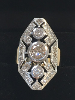 Remodel with customers gold and diamonds