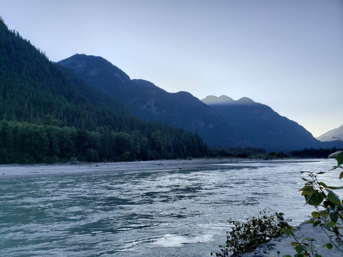 Relax by the Squamish River