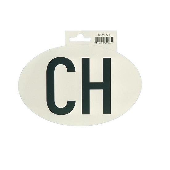 Hoheitszeichen CH, Kleber für PKW, 17,5 x 11,5 cm