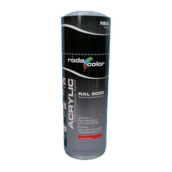 RodaColor Schwarz Glanz 400 ml