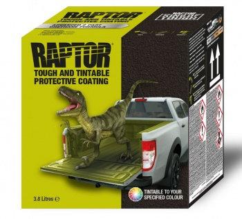 RAPTOR Oberflächenbeschichtung 4-Flaschen-Set schwarz