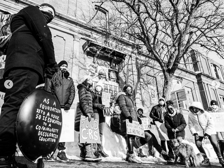 March for Education in support of Culturally Responsive Education - PRESS RELEASE