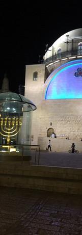 Hurva Synagogue at Night