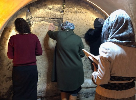 """""""Holy of Holies"""" in the Tunnels"""