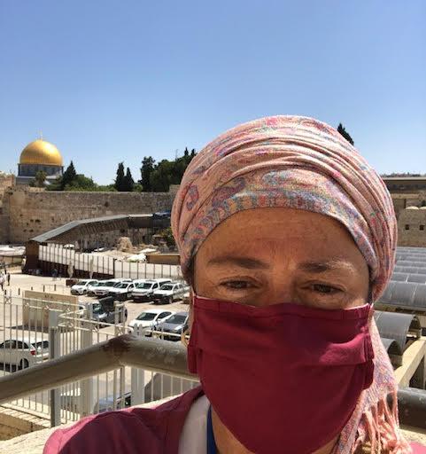 Leah Bowman view of Temple Mount