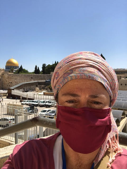 Leah Bowman view of Temple Mount