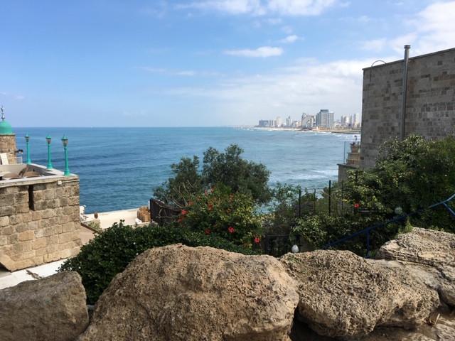 View of Tel Aviv from Jaffa