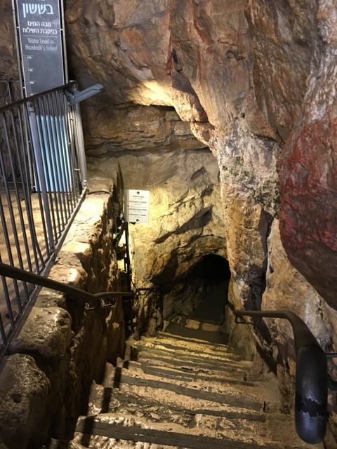 City of David Tunnel Entrance