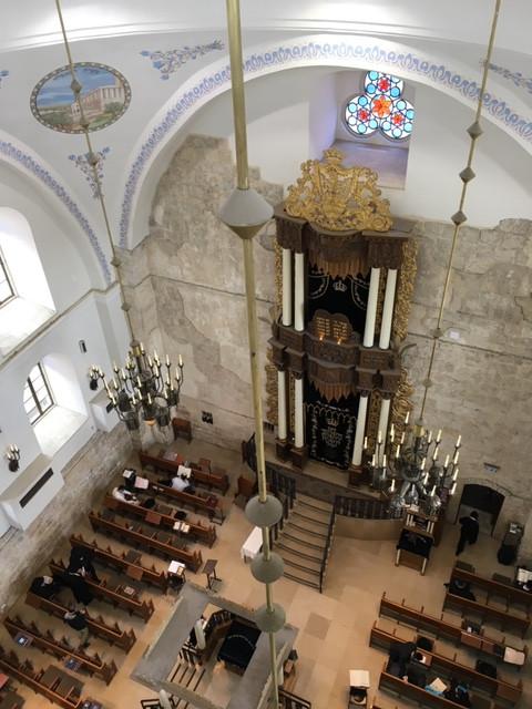 Hurva Synagogue Jewish Quarter