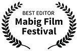 InkedBest Editor Preis Marbig Filmfestiv