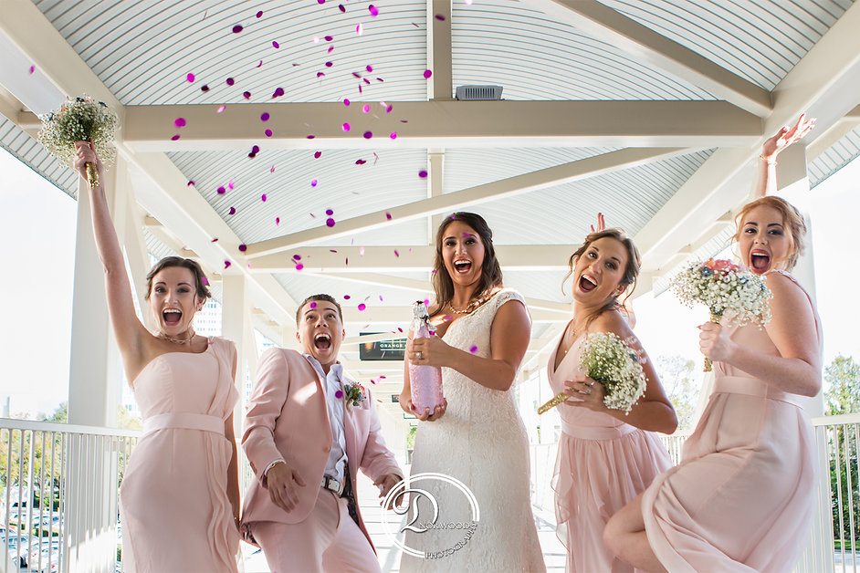 Rosen Plaza wedding photos | Orlando, FL | D. Norwood Photography. Central Florida Wedding Photography