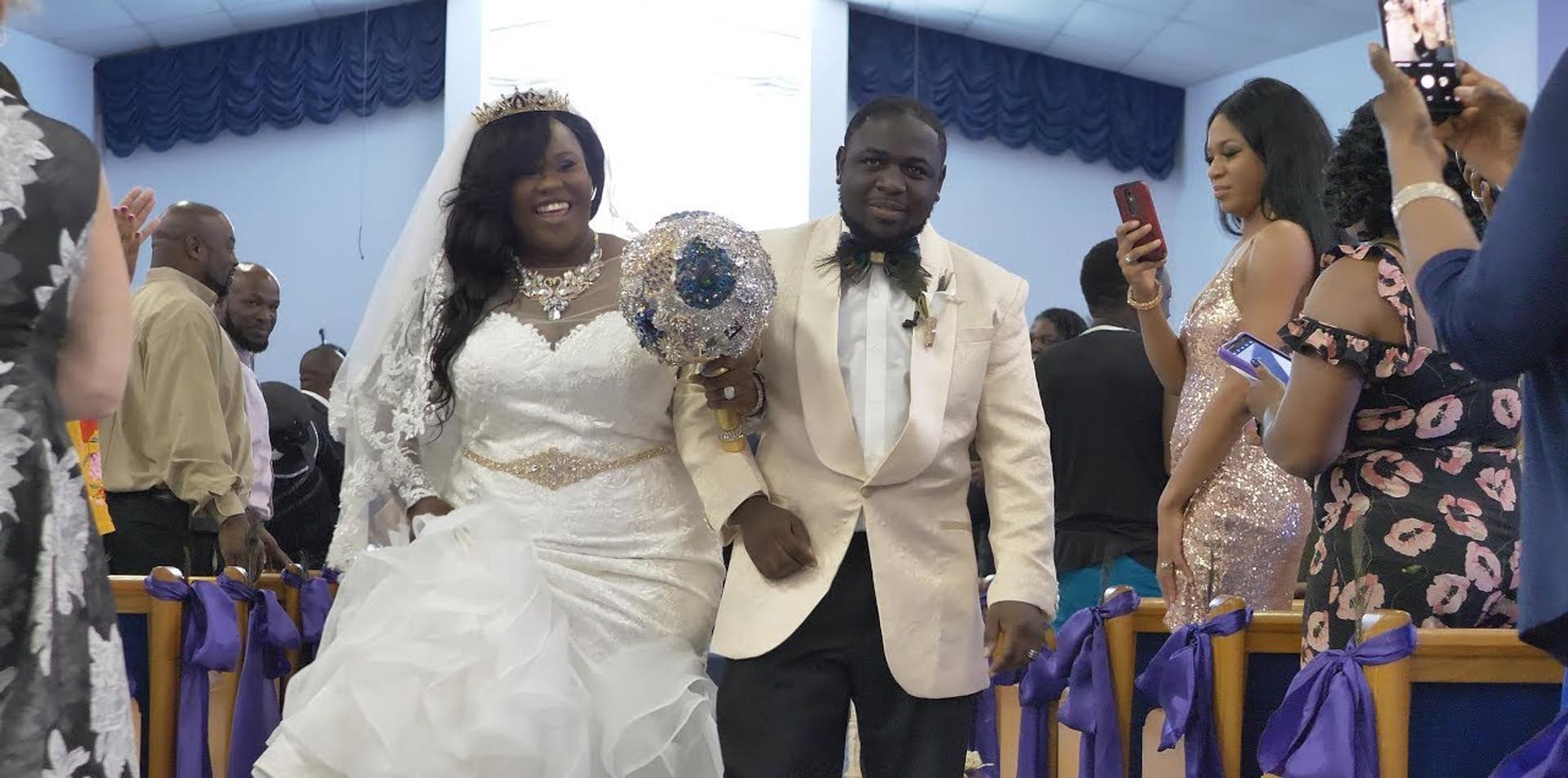 Tiffany & Contrail Gates Wedding trailer | Ormond Beach, FL