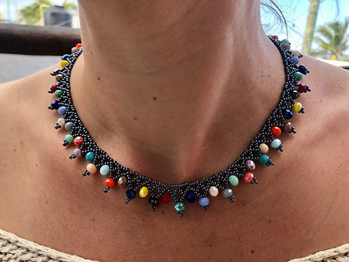 Fun Times Necklace - Woman's Beading Co-op