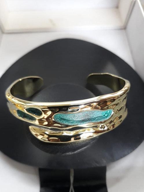 Island Bracelet in Brass