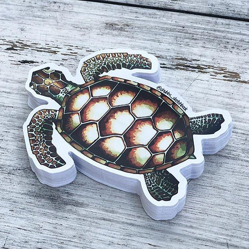 Turtle Sticker - Chubbs Sketchbook