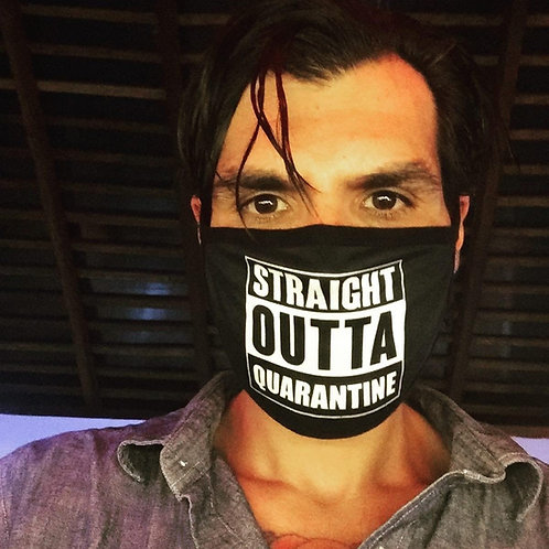 Straight Outta Quarantine Face Mask - Unisex