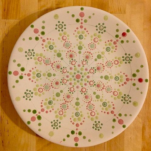 Christmas Mandala Plate Project