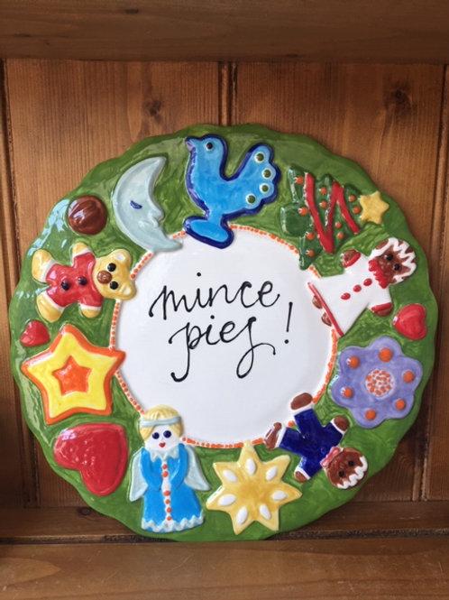 Christmas Wreath Platter