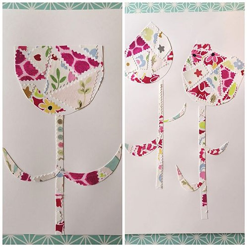 Fabric mosaic Art To-Go Kit